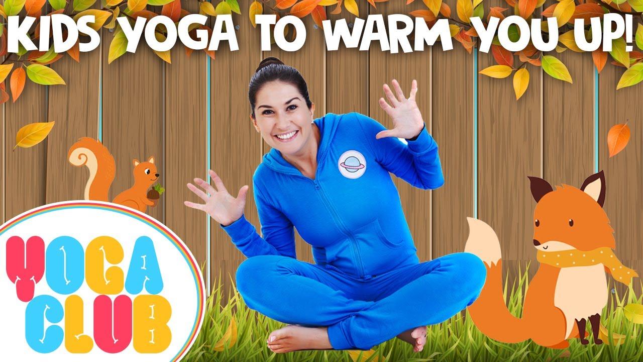 Yoga To Warm You Up: Yoga Club (Week 12) | Cosmic Kids