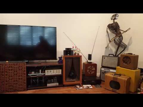 Karlson K12, Dyna pass 3 preamp , Dynaco ST35 tube amp andKlipsch x-over