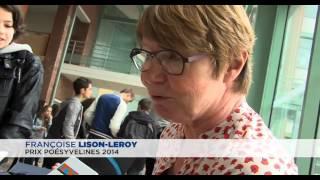 Françoise Lison-Leroy, prix PoésYvelines 2014