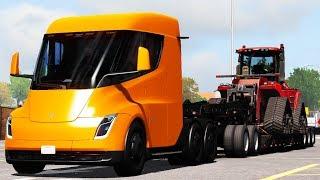 [1.34] American Truck Simulator | Tesla Semi Truck 2019 | Mods