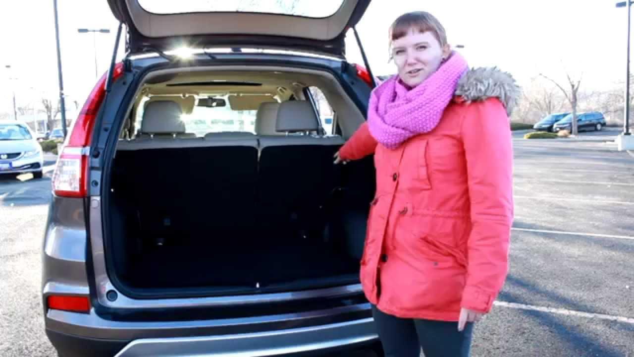 10 Honda CR-V Top Feature: Rear Cargo Area