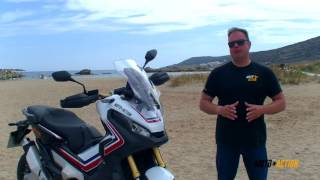 HONDA X-ADV 750 Ios test ride