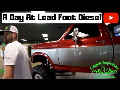Paul Checks out Lead Foot Diesel Performance!