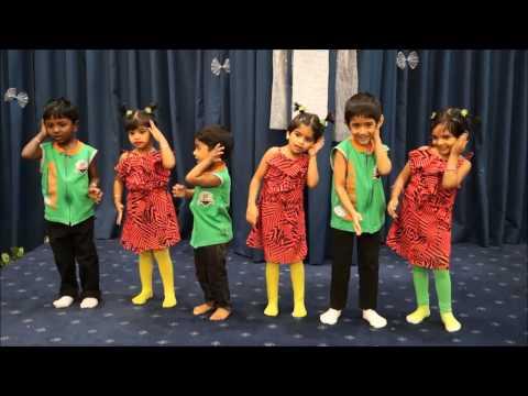 Kutty naan iya, Kids dance, Word of God Tamil Church, Doha Qatar