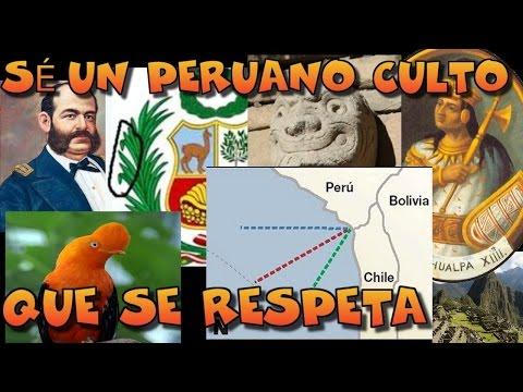 Especial: 70 DATOS DE CULTURA GENERAL QUE TODO PERUANO DEBE SABER   @SoyHugoX