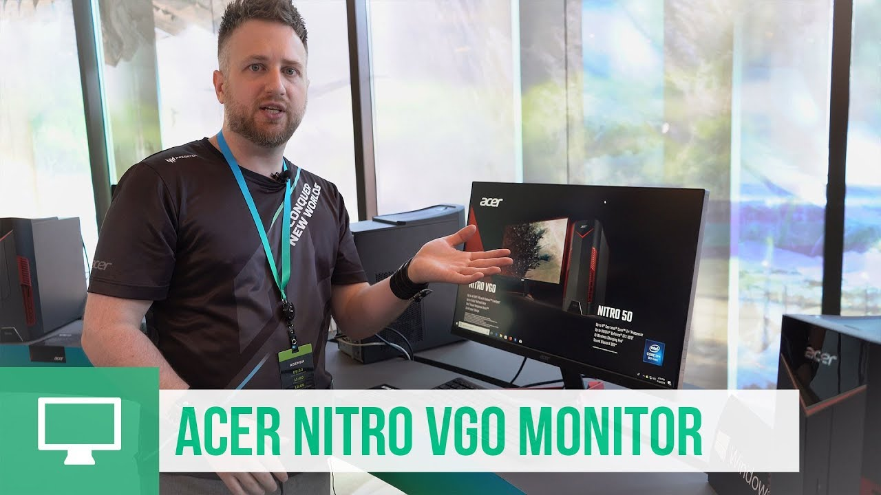 Acer Nitro Series VG0 Gaming-Monitor - First Look