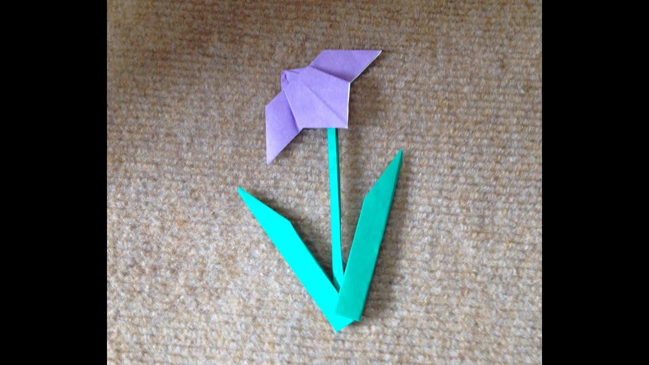 すべての折り紙 折り紙 折り方 簡単 : あやめ 折り紙 簡単 折り方 ...