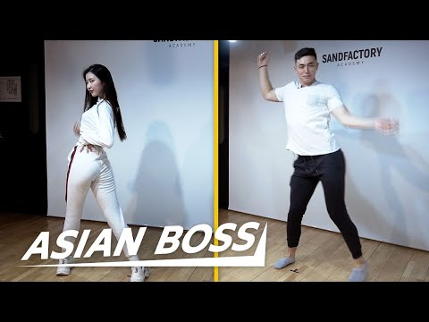 We Trained At The Best K-pop Academy In Korea | ASIAN BOSS