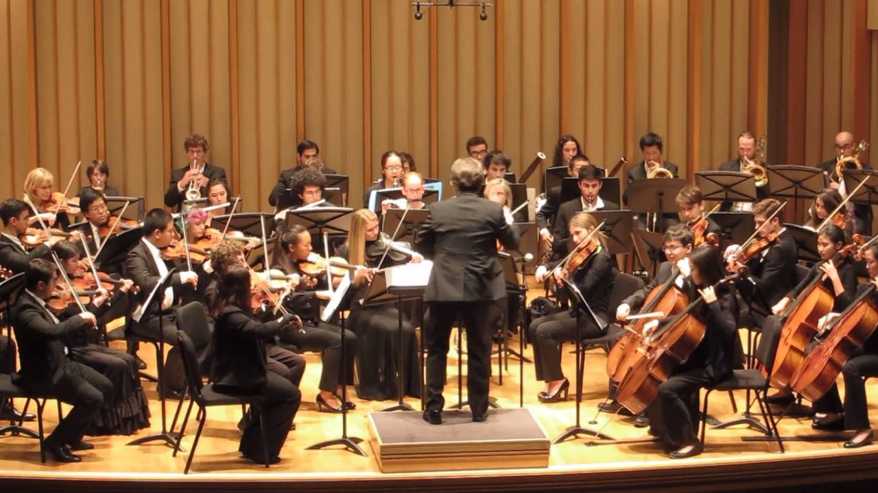 los angeles youth orchestra performs clymer s march suite