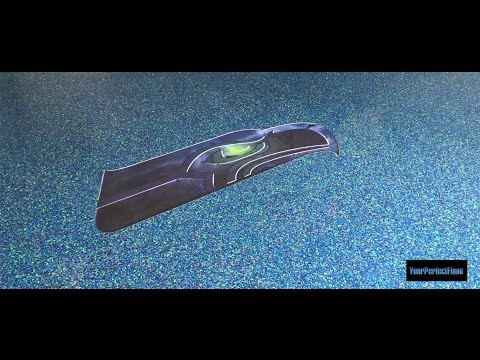 Time Lapse of Installation of Seahawk Logo in Epoxy in a Maryland Garage Floor