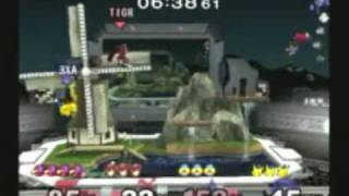 Forward(Falco) and Tai(Marth) vs Okami(Sheik) and Axe(Pikachu) 1