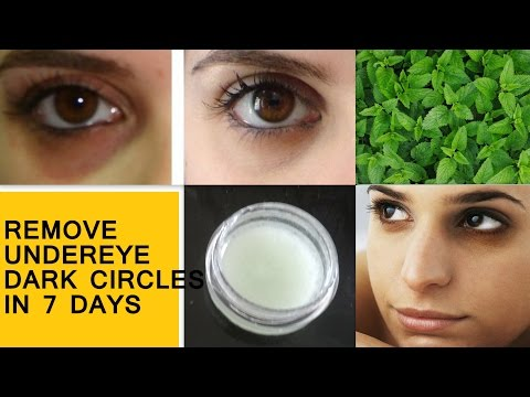 Remove UNDER EYE DARK CIRCLES , PUFFINESS and WRINKLES in 7 days -10 minutes Undereye Treatment