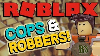 MY FIRST ROBLOX JAILBREAK - Roblox Cops and Robbers - Kid Friendly with No Cursing