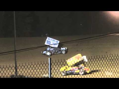 Atomic Speedway | 10.4.15 | OVSCA | Freedom 40 | Feature - dirt track racing video image