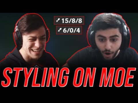 LL Stylish - STYLING ON MOE - UNRANKED TO CHALLENGER