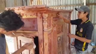 Cách xử lý vết đinh, lỗ mọt và vết nứt trên gỗ - Repair crack in a wood