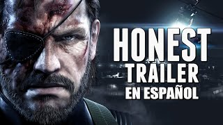 METAL GEAR SOLID (Honest Game Trailers en Español)