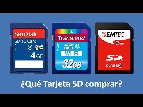 Guía para comprar tarjeta de memoria SD