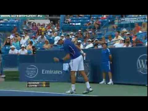 Novak Djokovic v David Goffin | Cincinnati Masters 2013