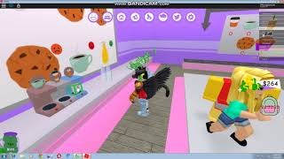 Roblox I WHEN TONY WORKED in I Work at a Coffee Shop I Tony Gamer