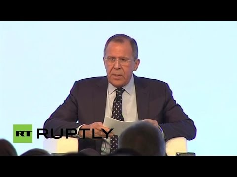 LIVE: Lavrov to talk at Mediterranean Dialogues Conference in Rome