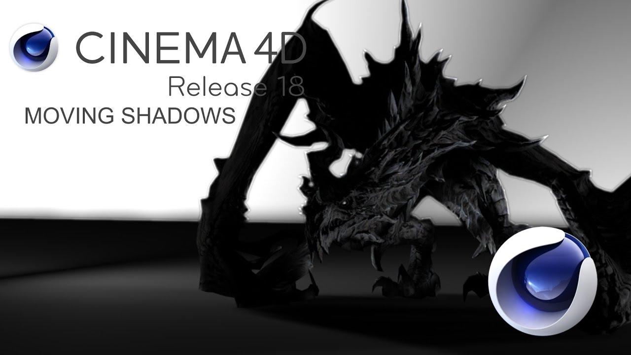 4d Shadow: Lighting Shadows Moving Objets Cinema 4d Tutorial