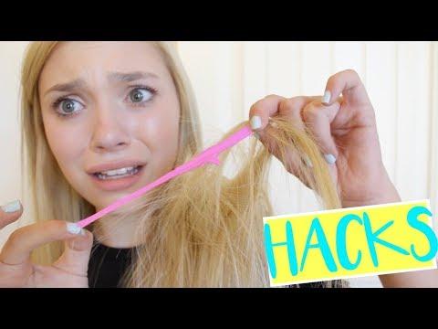 Life Hacks Every GIRL NEEDS To Know! | Sasha Morga