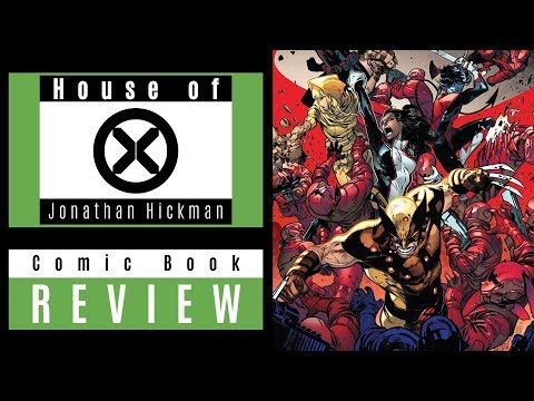 House Of X #4 Review Video: The MUST READ Comic Book Of 2019!