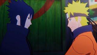 Naruto Ultimate Ninja Storm 4 PC Walkthrough Part 33 - Naruto vs Sasuke Final Battle Ending Credits