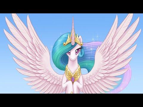 Май литл пони клип принцесса Селестия - YouTube
