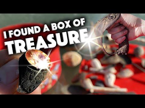 i-found-a-box-of-treasure!-rare-coins,-unique-relics,-victorian-thru-bronze-age!