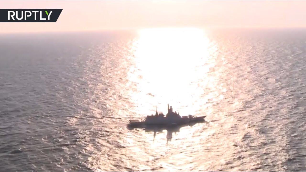 «Морское взаимодействие — 2017»: на Балтике завершился первый этап учений России и Китая