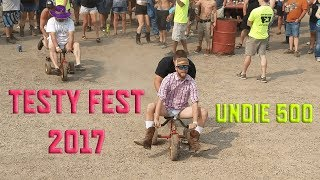 The Undie 500 | Testy Fest 2017 (NSFW)