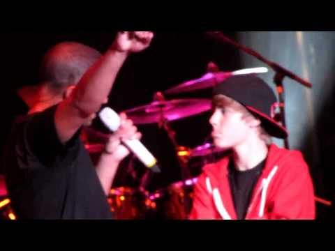 Justin Bieber & Drake perform (Live in Concert Indianapolis 8.13.10)