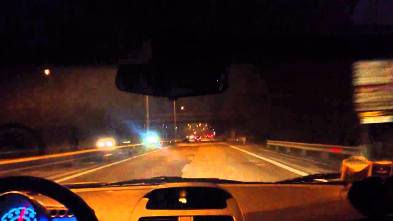 Nicola Franzoni alla guida in tange - YouTube