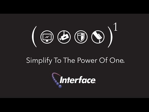 Interface Security Systems: Simplify To The Power Of One®