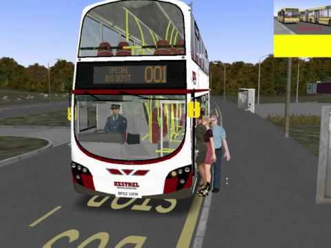 omsi 2 Farthington Demo maps route 001 to Bus Depot Terminus