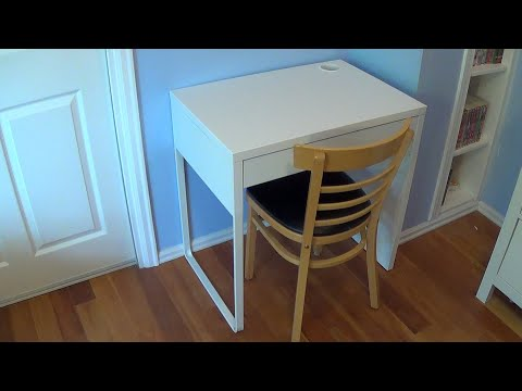 How to Assemble an Ikea Micke Desk