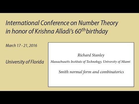 UF - Alladi 60 - Richard Stanley