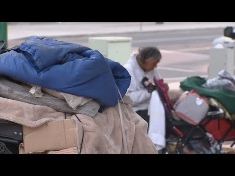 VIDEO: Clearing out homeless camp in downtown Phoenix