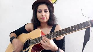 Gratitude | Amin Toofani Female Guitar Rhythm Cover By Sakshi chauhan