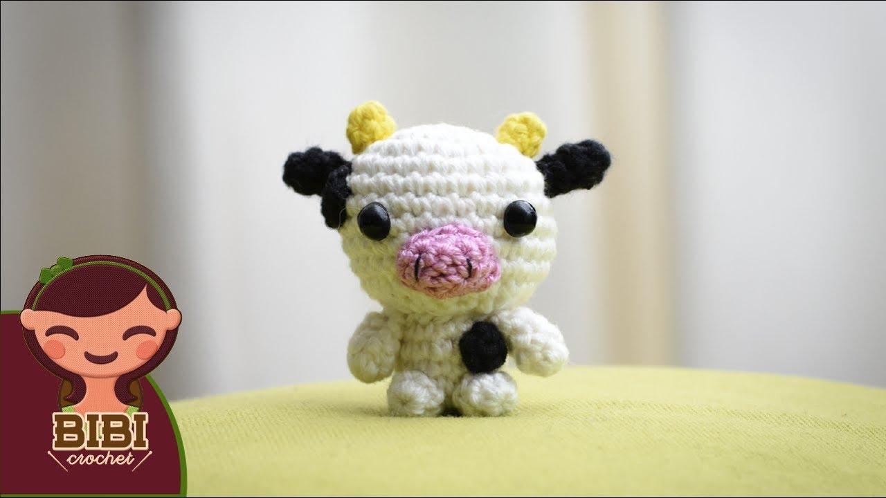Amigurumi Vaca : Amigurumi como hacer una vaquita en crochet bibi crochet youtube