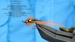 Size 8 Salmon Flies 3 X Tay Raiders