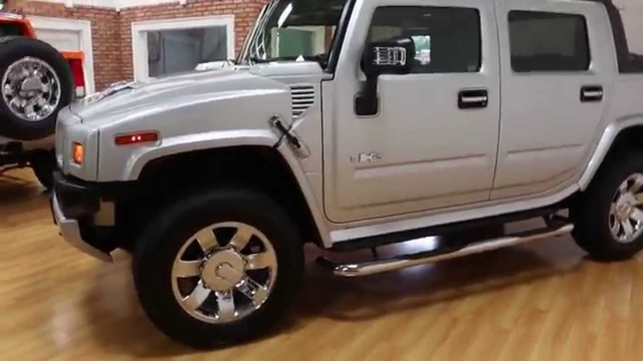 2009 hummer h2 sut luxury special edition for sale loaded rare silver ice low miles youtube. Black Bedroom Furniture Sets. Home Design Ideas