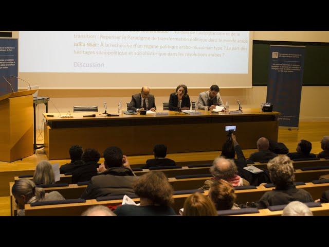 Colloque :  Des démocraties en invention ?  / Session 1 / CAREP Paris & Collège de France 2019