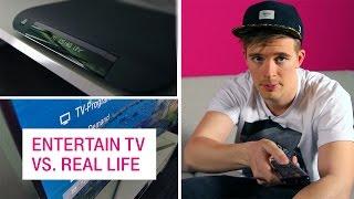 EntertainTV vs. Real Life - Netzgeschichten