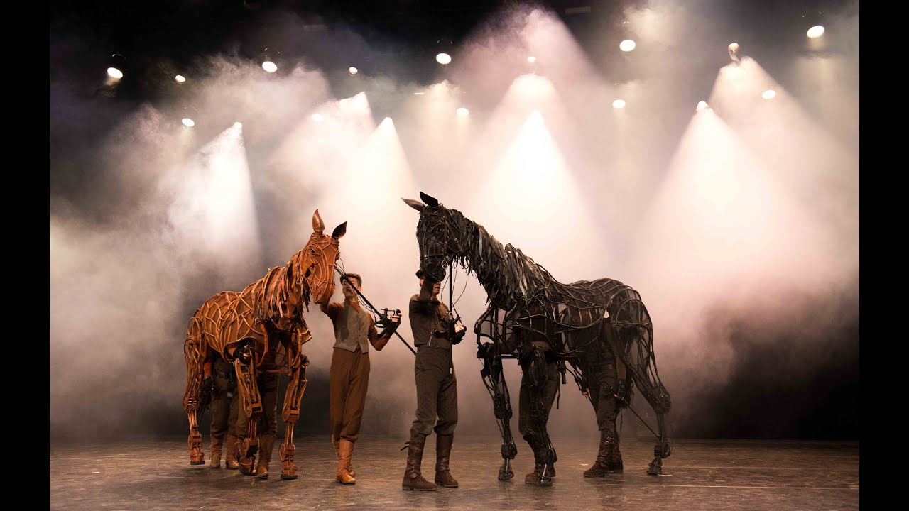war horse stage evaluation War horse is a 2011 a british war drama film directed and co-produced by steven spielberg from a who wrote the songs for the stage production of war horse.