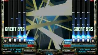 IIDX DJ TROOPERS - MENTAL MELTDOWN (A Vs 黑) Autoplay [720p compatibility]