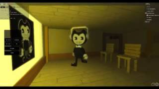 ROBLOX LET'S PLAY | Bendy And The Ink Machine Roleplay | C013 Huff and friends!