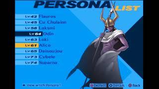 Shin Megami Tensei : Persona 3 FES -201- The Actual Top